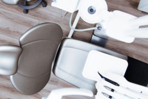 Modern office for dental implants near Danforth.